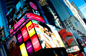 Digital Signage i gatebildet