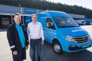 PostNord leverer med 0-utslippsbiler
