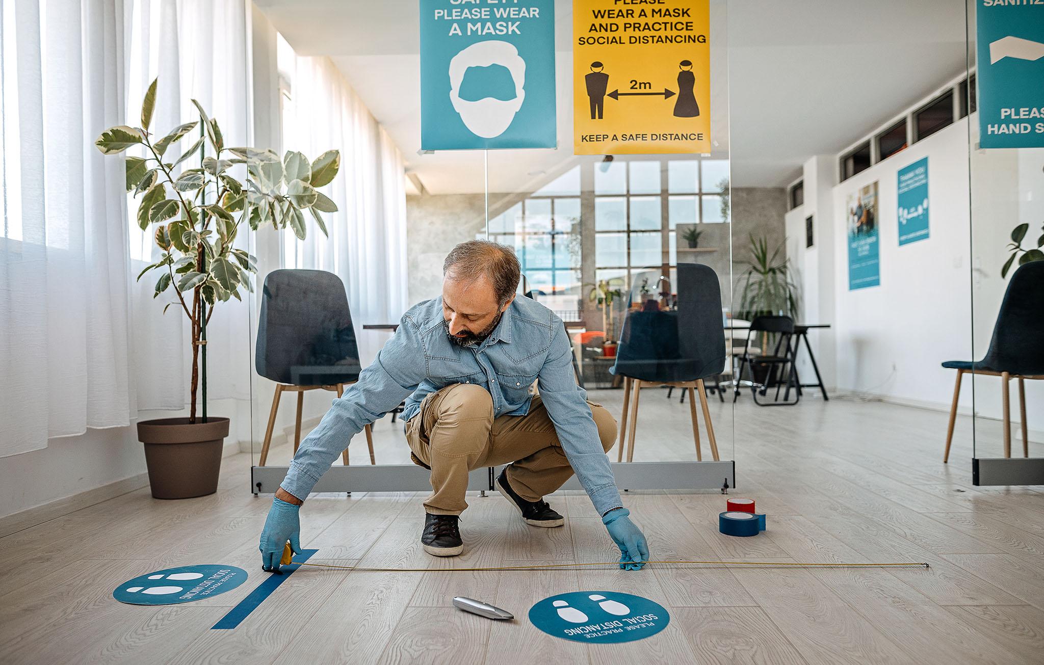 Koronovennlige kontorlokaler